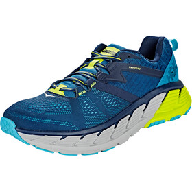 Hoka One One Gaviota 2 Running Shoes Herrer, black iris/seaport